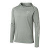 Hydrotech Lightweight Fishing Hoodie - Grey - UPF 50+ - Sportsman Gear
