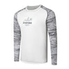 Hydrotech Performance Fishing Shirt - Grey Camo/White - Sportsman Gear