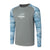 Hydrotech Camo / Solid Long Sleeve Shirt