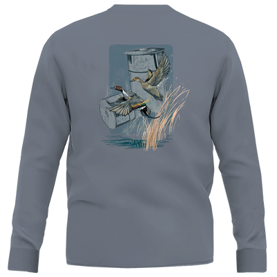 Two Shot Long Sleeve Shirt
