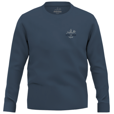 Sportsman Always In Season Shirt - Navy