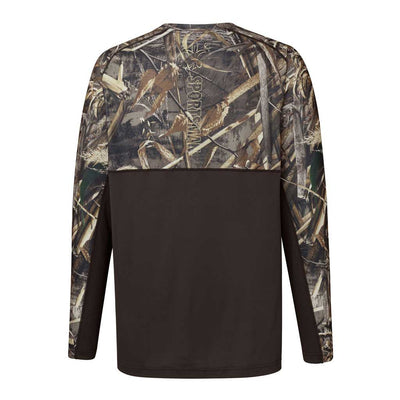 performance mesh back mens hunting shirt max 5 camo