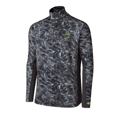 Cool Breeze Quarter Zip Performance Fishing Shirt
