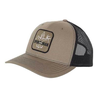 Sportsman Trucker Mesh back Hat Lodan/Black