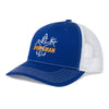 Sportsman Embroidered Hat - Blue/White