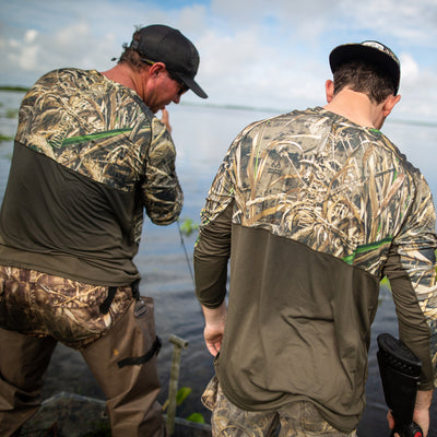 Cool Breeze Pro Camo Long Sleeve Shirt