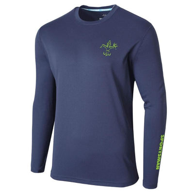 Performance Fishing Shirt - Sportsman Equinox - Long Sleeve - Classic - Dusk