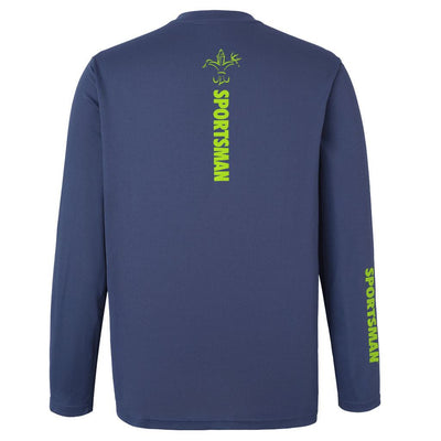Performance Fishing Shirt Fisherman Dusk Blue