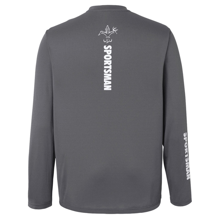 Performance Fishing Shirt - Sportsman Equinox - Long Sleeve - Classic - Charcoal