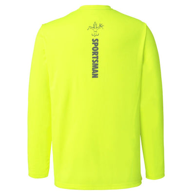 Best fishing shirt for boat equinox sportsman fish chartreuse