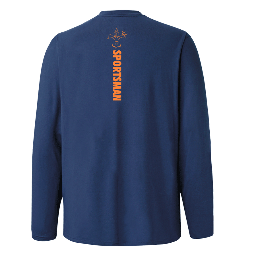 Hunting Shirt - Sportsman Responder Navy Long Sleeve Performance Base Layer