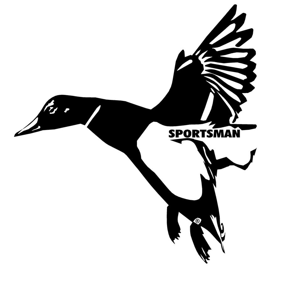 Sportsman Mallard Decal