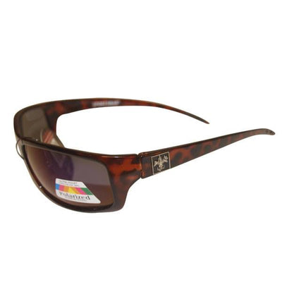 Sunglasses - Sportsman Brown Logo Frame Sunglasses