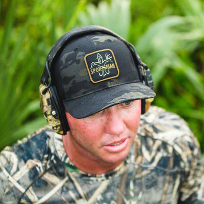 Sportsman Patch Hat - MultiCam Black / Black