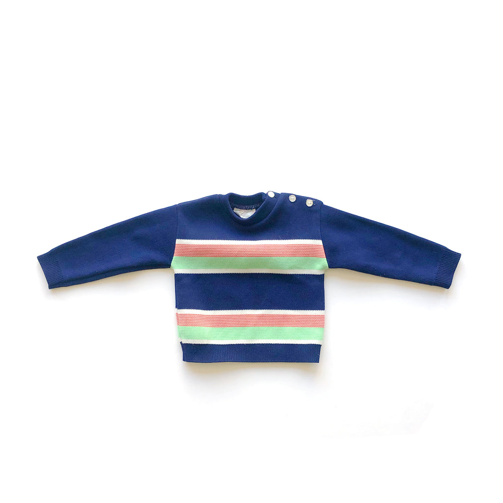 70'S VINTAGE INFANT POLYESTER SWEATER