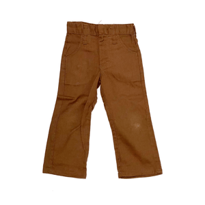70'S VINTAGE TODDLER BROWN DICKIES