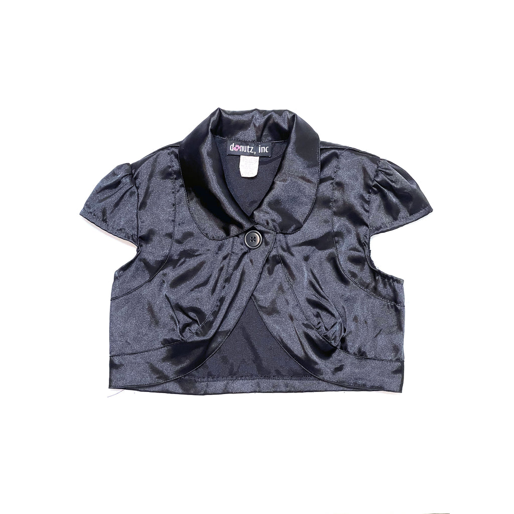 90's KIDS SATIN SHORT SLEEVE SHRUG