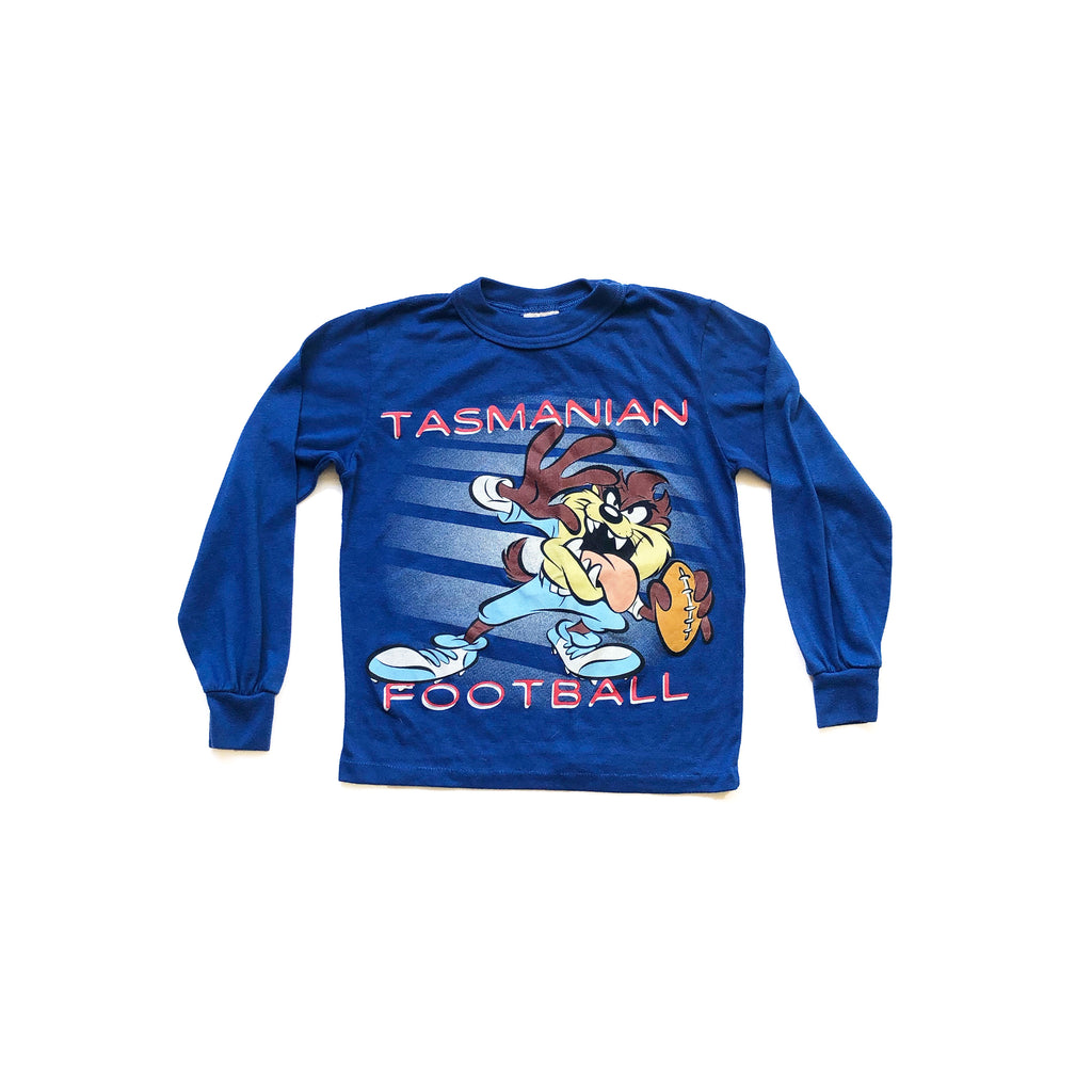 90'S KID'S TAZ FOOTBALL LONG SLEEVE SHIRT