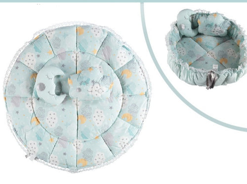 Round Baby Nest with two Pillow