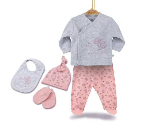 Biorganic Newborn Baby Set ( 5 Pieces)