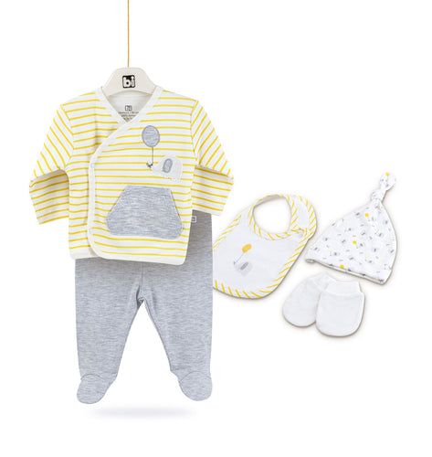 Newborn Baby Set ( 5 Pieces)