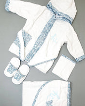 Load image into Gallery viewer, Baby Bathrobe Set 4 Pieces