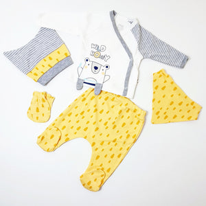 5 Pieces Baby Romper Suit