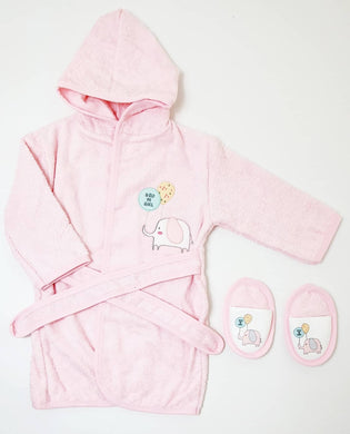 Baby Bathrobe Set 2 Pieces