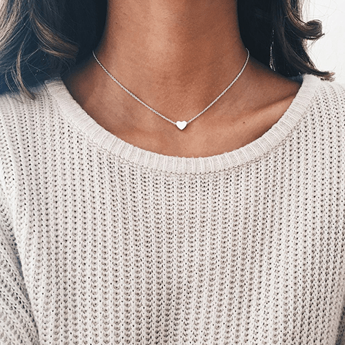 Small Heart Necklace - Cariona