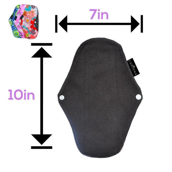 Reusable Menstrual Pad Starter Pack - Cariona