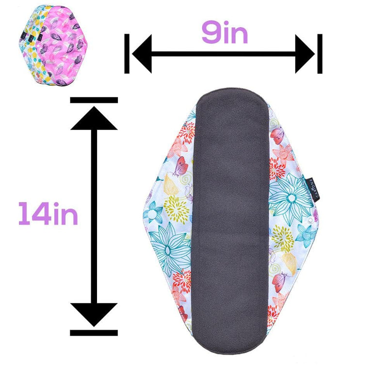 Reusable Menstrual Pad Heavy Flow Pack - Cariona