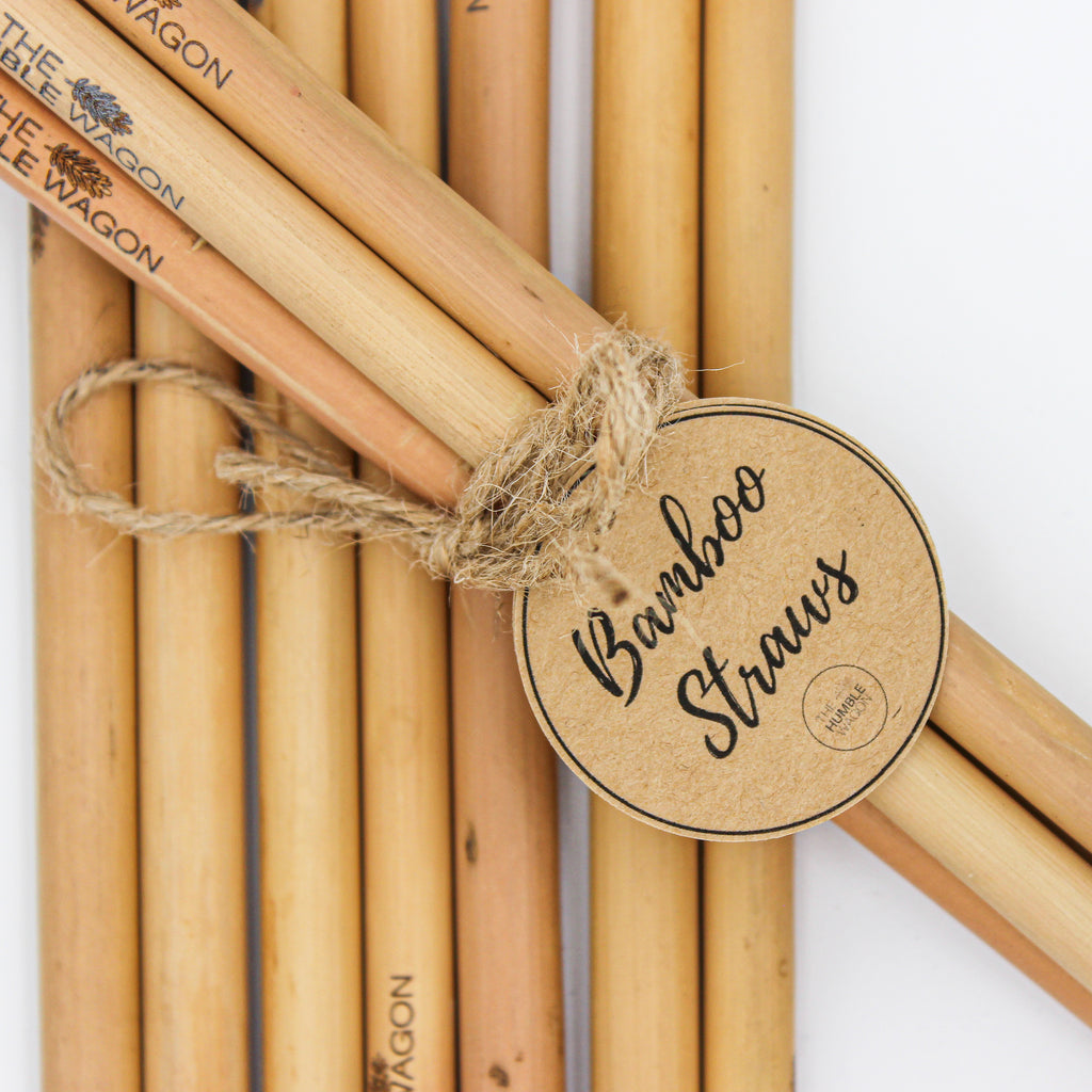Bamboo Straws - The Humble Wagon