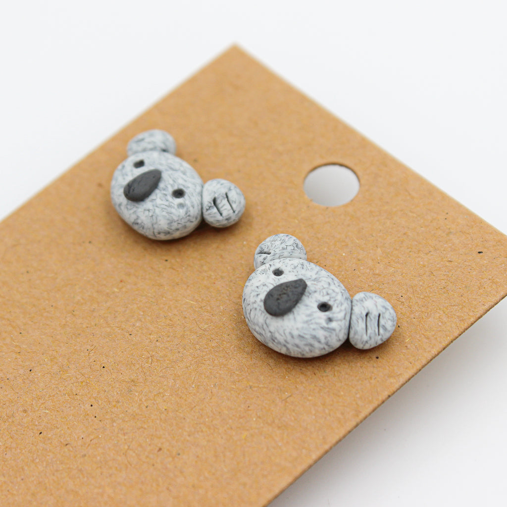 Koala Studs | Handmade Earrings - WWF Donation