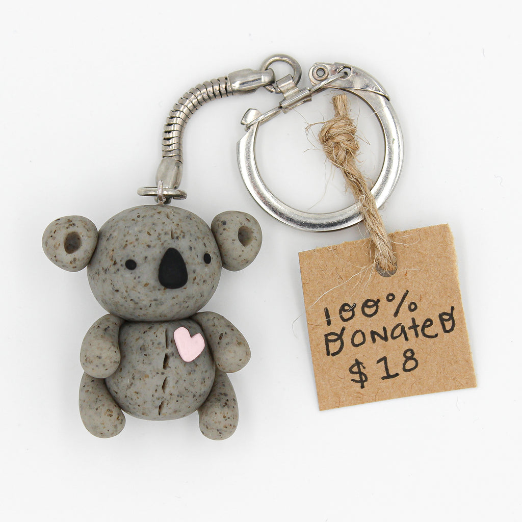 Koala Keychain - WWF Donation - The Humble Wagon