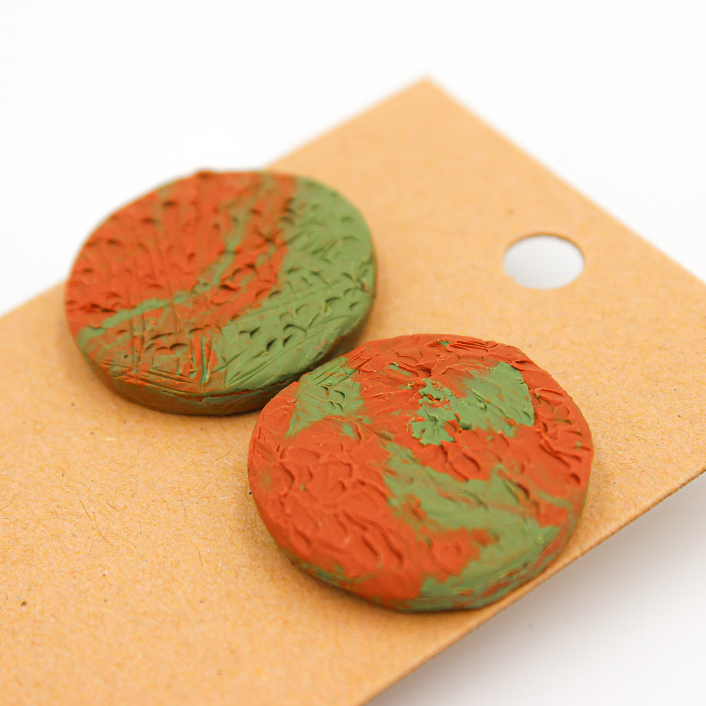 Eden Studs - Handmade Earrings - The Humble Wagon