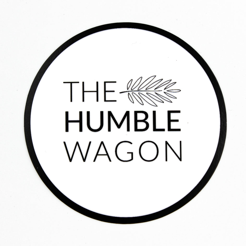 The Humble Wagon - Die Cut Sticker - The Humble Wagon