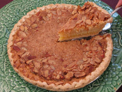 Almond Amaretto Chess Pie