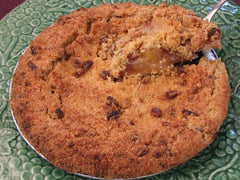 Butter Pecan Apple Crumb Pie