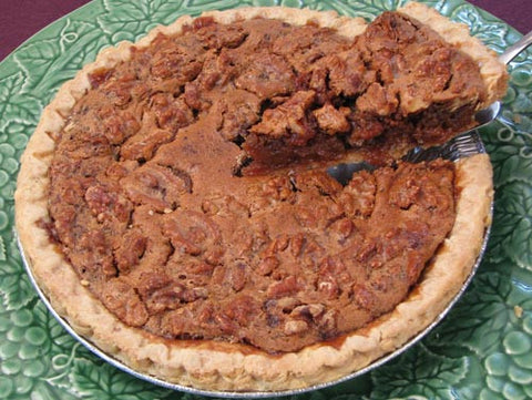 Bourbon Walnut Pie
