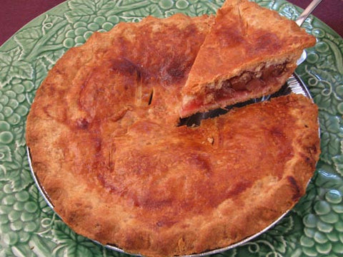 Mom's Own Rhubarb Pie