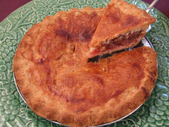 Mom's Rhubarb Pie