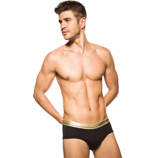 Men's Underwear, Black Knight Brief, Ken Wroy, mens underwear, best men underwear, black brief