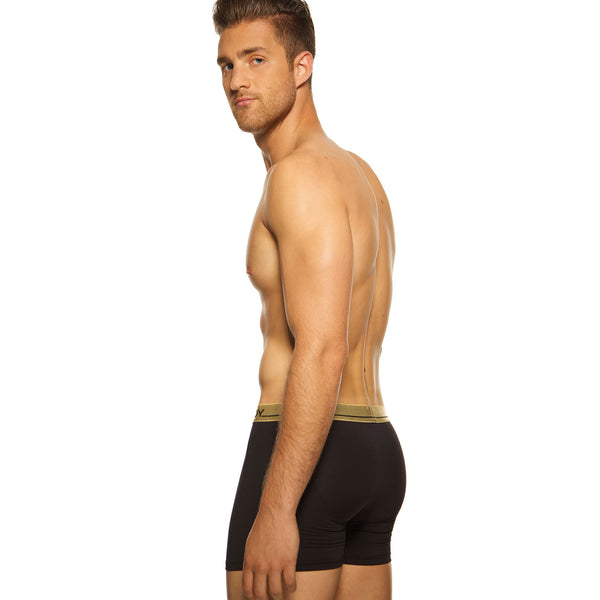 Men's Underwear, Black Knight Boxer-brief, Ken Wroy, black underwear