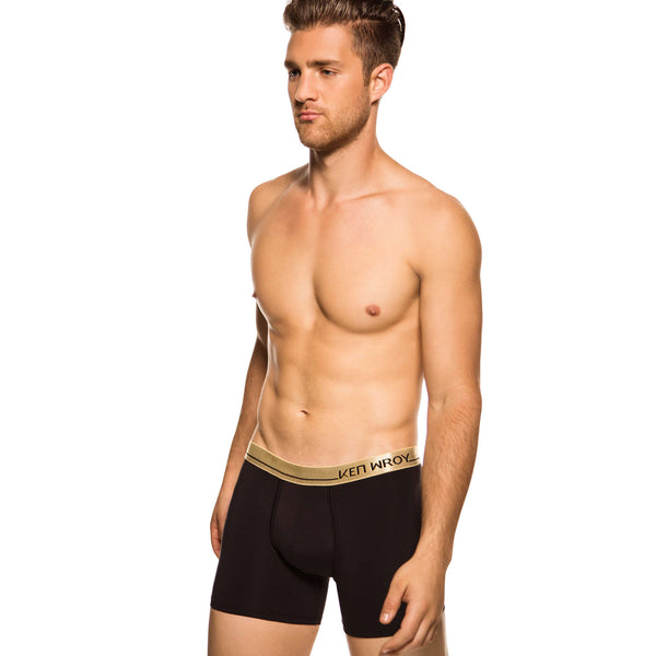 Men's Underwear, Black Knight Boxer-brief, Ken Wroy, black boxer-briefs