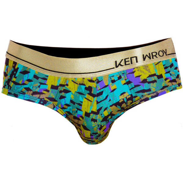 Men's Underwear, Camo Brief , Ken Wroy, mens spandex underwear  - 1