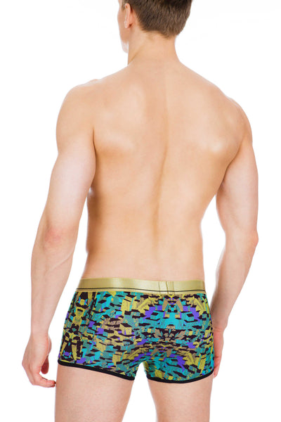 Men's Underwear, Camo Lowrise Trunk, camouflage cloth, Ken Wroy  - 3