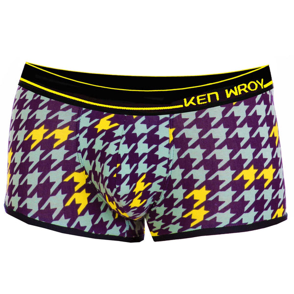 Men's Underwear, Houndstooth Pop Lowrise , Ken Wroy  - 1