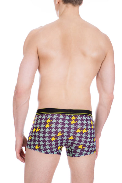 Men's Underwear, Houndstooth Pop Trunk , jock strap, Ken Wroy  - 3