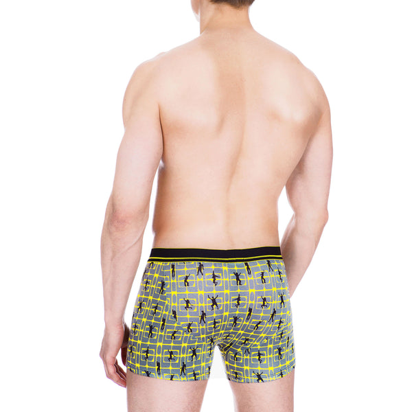 Men's Underwear, Party Animal Boxer-brief, Boxer-briefs, Ken Wroy  - 3