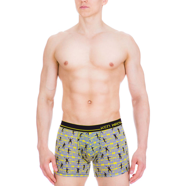 Men's Underwear, Party Animal Boxer-brief, Boxer-briefs, Ken Wroy  - 2